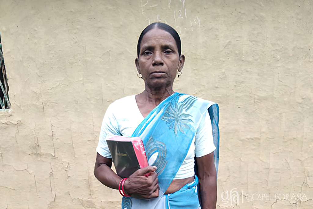 As Pastor Surin listened, he learned this woman, Mysie, wasn't crazy, she just lived a difficult life, she was a widow with no friends or family nearby.