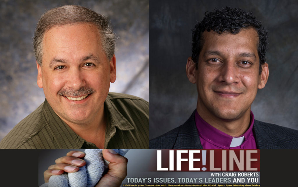 """Danny Yohannan appeared on KFAX Radio's """"Lifeline with Craig Roberts"""" to discuss eradicating abject poverty and the propositions."""
