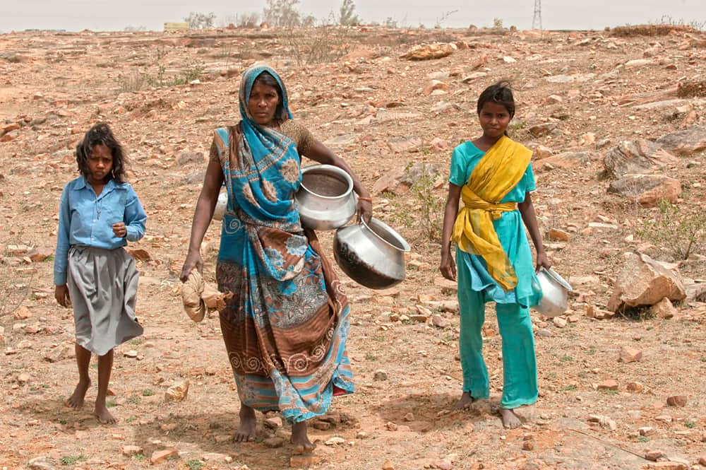 Gospel for Asia(GFA World, founded by KP Yohannan) Report 2 - Unspoken Global Crisis, Water Stress, nations struggle for safe drinking water